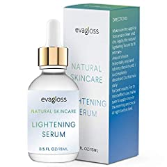 Are you looking for a gentle, safe and natural method to fade away dark spots and uneven skin tone on your face and/or body?Evagloss has developed a premium skin lightening serum that works deeply inside of the skin without any harsh or dange...