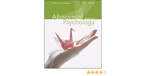 nolen hoeksema abnormal psychology 6th edition pdf free