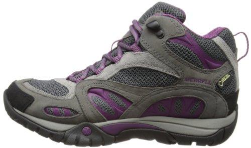 Merrell Azura Mid Gtx, Damen Trekking- & Wanderstiefel, Grau (castle Rock/purple), 39 Eu