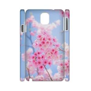 3D Doah Cherry Blossoms Samsung Galaxy Note 3 Case Sakura, Cherry Blossoms, {White}