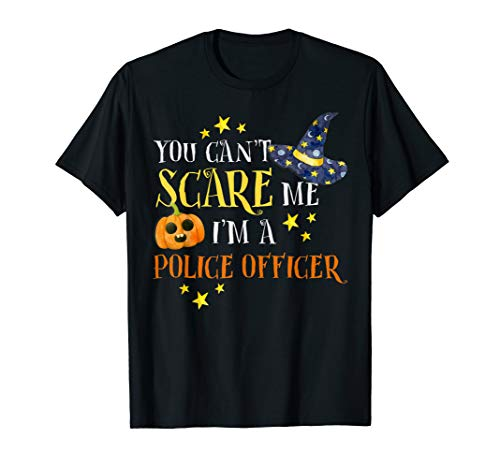You Can't Scare Me Police Officer Halloween Costume -