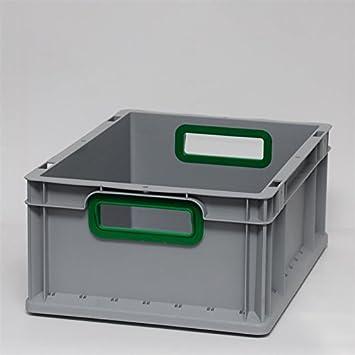 Euro cajas Euro caja Euro recipiente abierto mango 400 x 300 x 170 ...
