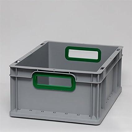 Euro cajas Euro caja Euro recipiente abierto mango 400 x 300 x 170 mm - cajas