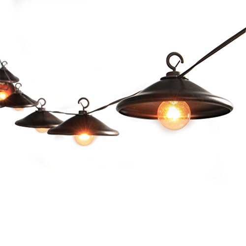 MYHH-LITES G40 Patio Outdoor String Lights with 5