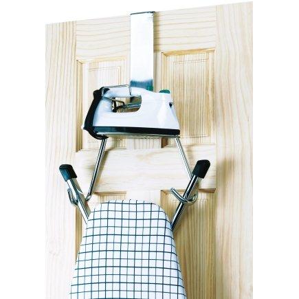 Incroyable Polder Over The Door Ironing Board Hanger Holder T Leg Ironing Board Chrome  New