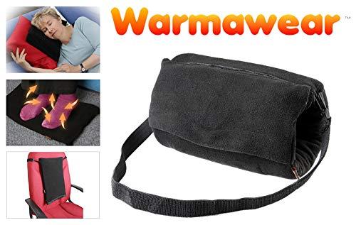 Calentador de Mano//pie//Espalda 4 en 1 con bater/ía y coj/ín con Conector USB WarmawearTM