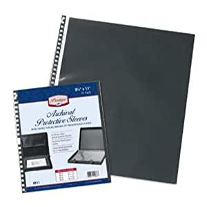 Archival Quality Acid-Free Protective Sleeve Refill - Prestige (11 in. L x 14 in. W 10 Per Pack)