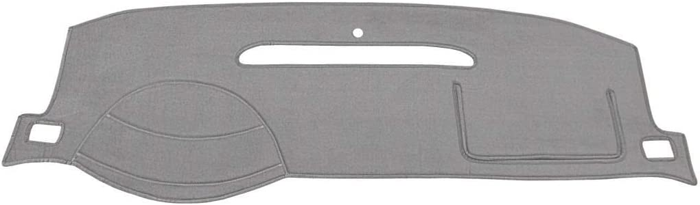 Seat Covers Unlimited Dash Cover Mat Pad - for Nissan Pick-up 1994-1997 (Custom Velour, Charcoal)