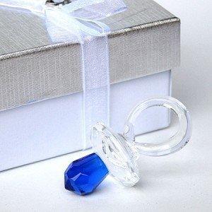 Cristal Azul Los chupetes/chupete Favors: Amazon.es: Hogar
