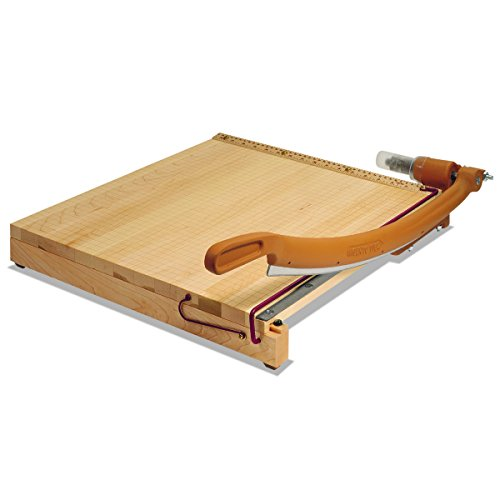 Swingline 1142 ClassicCut Ingento Solid Maple Paper Trimmer, 15 Sheets, Maple Base, 15 x (Gbc Paper Cutter)