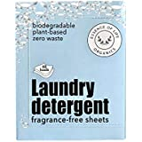 Biodegradable, Plant-based Zero Waste Laundry Detergent Strips (fragrance free, up to 48 loads)