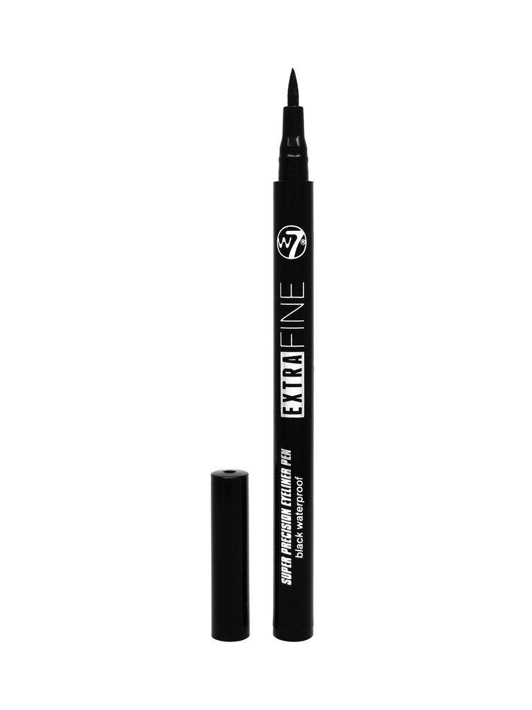 W7 Cosmetics Waterproof Automatic Felt Tip Eyeliner Pen, Black W7-168733