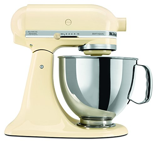 KitchenAid RRK150AC  5 Qt. Artisan Series - Almond Cream (Certified (Make Almond Butter)