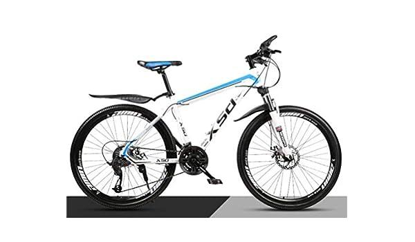 WJSW Bicicleta de montaña con amortiguación para Adultos ...