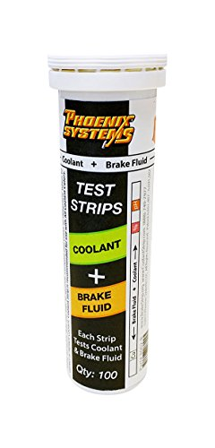Phoenix Systems 8003-B Double-Ended Test Strip for Coolant + Brake Fluid (100 Test Strips and 100 Rating Scale Cards) by Phoenix Systems (Image #6)