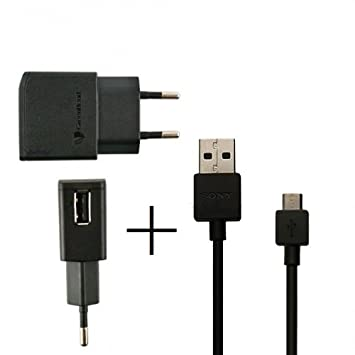 Sony EP800 se USB Cargador USB Xperia Z2 Negro: Amazon.es ...