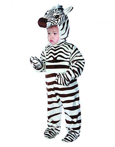 Zebra Toddler Costume - Large - Zebra Costumes For Toddlers