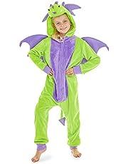 CityComfort Glow in The Dark Onesie Kids Onesies voor meisjes Rainbow Unicorn Pyjama 3-14 jaar oud
