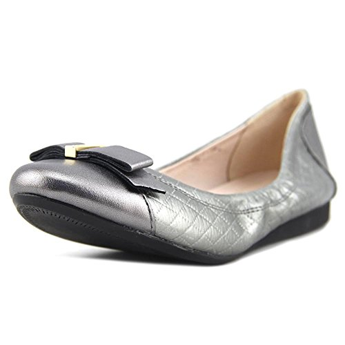 Cole Haan Women Elsie Ballet Flat (9 B (m) Us, Trapuntino In Peltro Metallizzato Trapuntato)