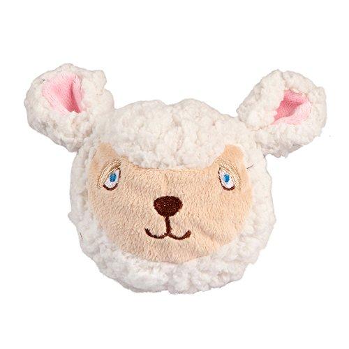 Image of fabdog Sheep faball Squeaky Dog Toy (Medium)