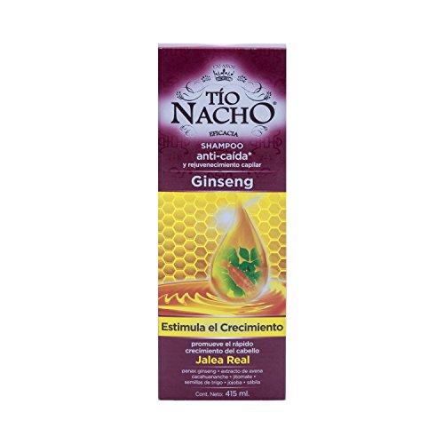 Tio Nacho Ginseng Rejuvenation and Anti-Hair Loss/Anti-caida y rejuvenecimento Dcache Gift Set