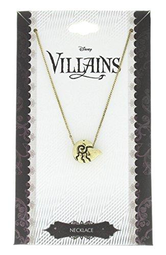 Bioworld Disney Little Mermaid Costume Shell Necklace Ariel Ursula Villains Accessories