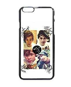 """5 Seconds of Summer Ashton Luke Calum Michael Uniqued Pattern Design Pattern Hard Shell Back Case Cover For iPhone 6 with 4.7"""""""