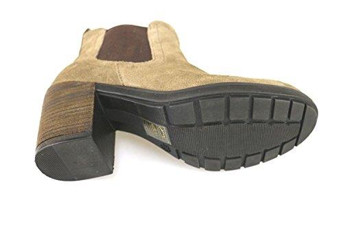 Chaussures femmes: KEYS Bottines Beige Daim AJ145