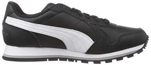 Unisex white St Runner L Puma Negro black Zapatillas Adulto Full qFXwnwdz5U