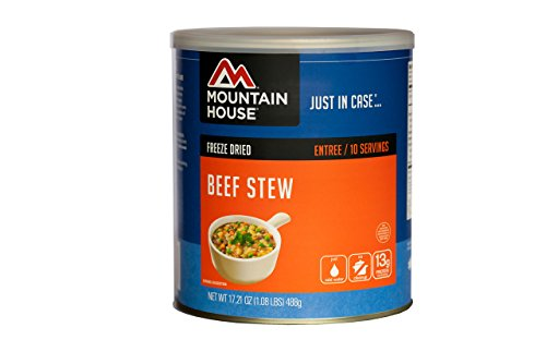 Beef Meal Barley (Mountain House Beef Stew #10 Can)