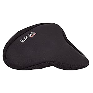 "Sunlite Cloud-9 Gel Seat Cover, Cruiser/Excerciser (11 x 10"")"