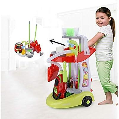 Pour Chariot Nettoyage Jouets Mini Wdxin De Enfants Jeu WH2eIYED9