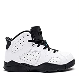 29484462c7d Amazon.com  Air Jordan Retro 6 Hyper Jade P.S Youth Kids White Hyper Jade  Black 384666-122 (1.5) (0728295368932)  Books