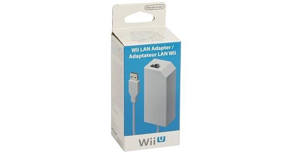 Nintendo Wii U - Adaptador LAN: Amazon.es: Videojuegos