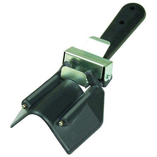 Bullnose Drywall Corners - Kraft Tool Co. DW454 Kraft Tool Co. DW454 Round It Tool, Black