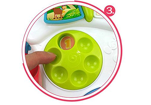 LemonGo Baby Learning Walker Sit-to-Stand Table Mobile Push Pull Toys by LemonGo (Image #4)