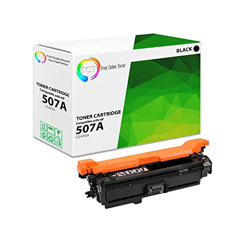 TCT Premium Compatible Toner Cartridge Replacement for HP 507A CE400A Black Works with HP Laserjet Enterprise M551 M575, Pro M570 M570DW Printers (5,500 Pages) ()