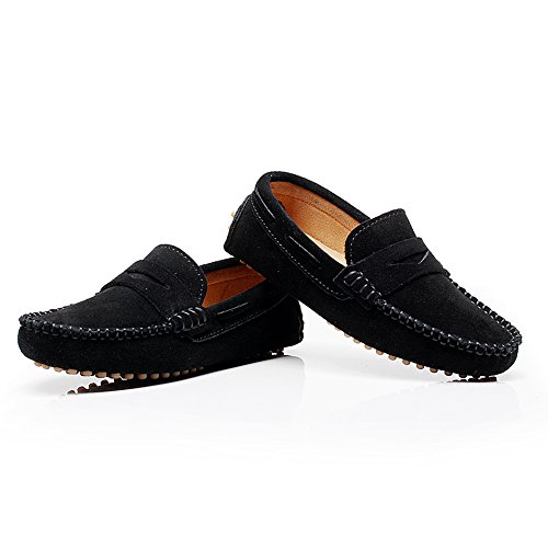 Pictures of Shenn Boys' Cute Slip-On Suede Leather S8884 4