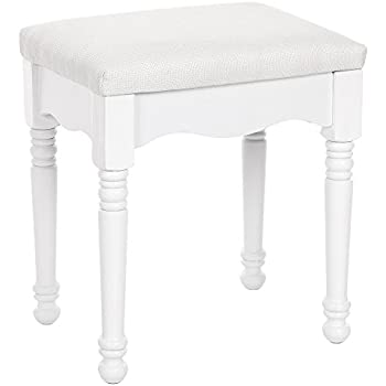 Amazon Com Songmics Vanity Makeup Dressing Stool Padded