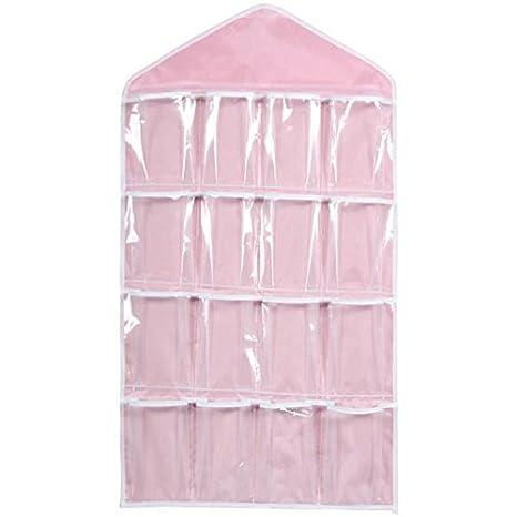 16 Pockets Door Wardrobe Hanging Organizer Bag Shoe Rack Hanger Closet Storage /&