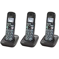 Clarity E814HS Moderate Hearing Loss Cordless Handset & Charger (3-Pack)