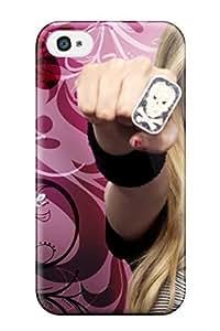 Mary David Proctor Premium Protective Hard Case For Iphone 4/4s- Nice Design - Avril Lavigne Pink Girls Desktop