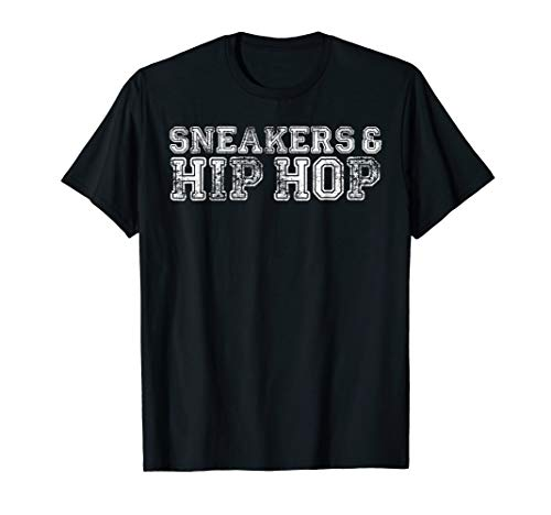 (Sneakerhead Sneakers and Hip Hop T-Shirt - Streetwear Tee)