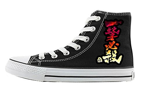 Bromeo One Punch Man Unisexe Toile Salut-Top Sneaker Baskets Mode Chaussures