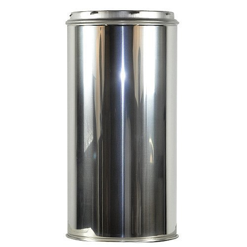 "Shasta Vent 8″ x 18″ Class A, All Fuel, Double Wall, Insulated, SS  ""Chimney Pipe""  8″ Dia. x 18″ Length"