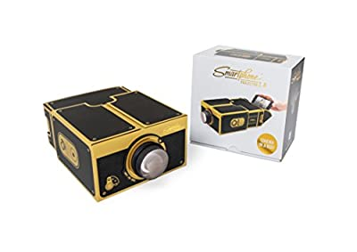 Smart Phone Projector 2.0 | gold & black edition by Luckies