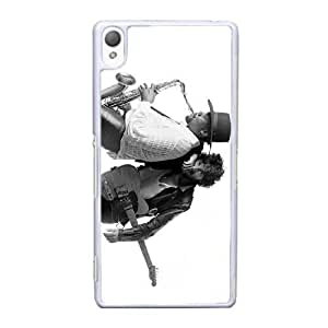 Sony Xperia Z3 Cell Phone Case White Bruce Springsteen AS7YD3594299