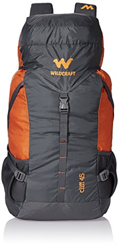 Wildcraft 45 Ltrs Grey and Orange Rucksack (8903338073864) 3