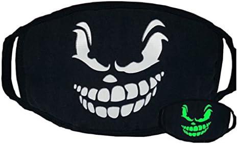 display08 Cool luminoso anti polvo algodón boca máscara cosplay Partido al aire libre máscara, Sinister Smile: Amazon.es: Deportes y aire libre