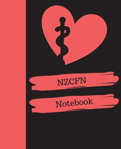 (NZCFN Notebook: New Zealand Certified Flight Nurse Notebook Gift | 120 Pages Ruled With Personalized Cover)